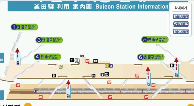 地鐵釜田站 昇降機 Elevator