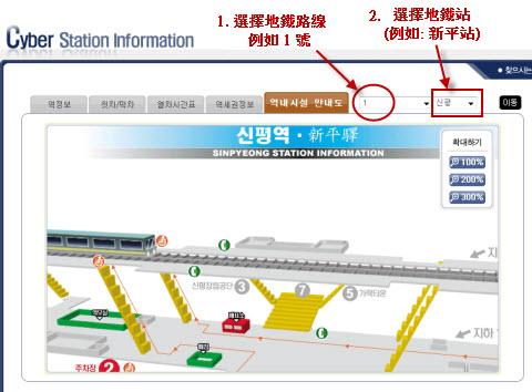 How to check Busan Metro Lift and Escalator