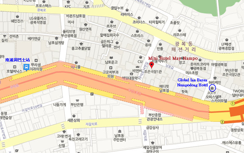釜山南浦洞全球酒店 Global Inn Busan Nampodong Hotel