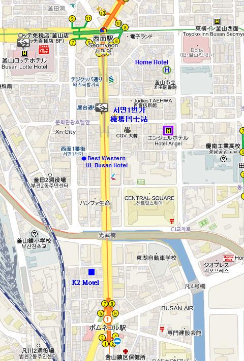釜山西面 Home Hotel 家園酒店